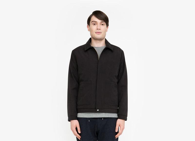 Frisur – pánská podzimní bunda do pasu, bez kapuce | Podzimní a zimní oblečení – pánské