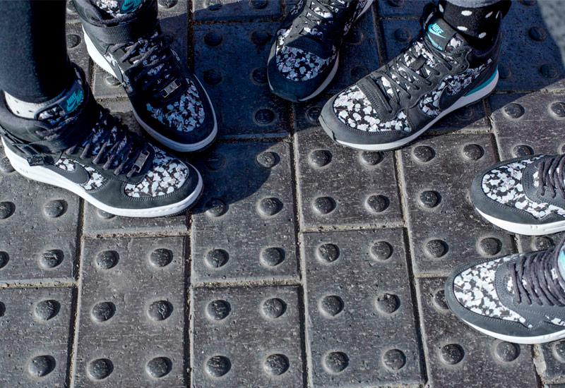 Nike x Liberty – Internationalist Mid, Lunar Force 1 Sky Hi, Air Max 1 Sneakerboot | Dámské kotníkové tenisky