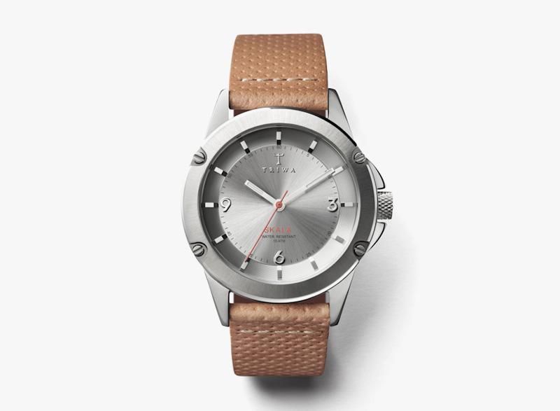 Hodinky Triwa – dámské – ocelové pouzdro, hnědý řemínek – Stirling Skala | Náramkové luxusní hodinky
