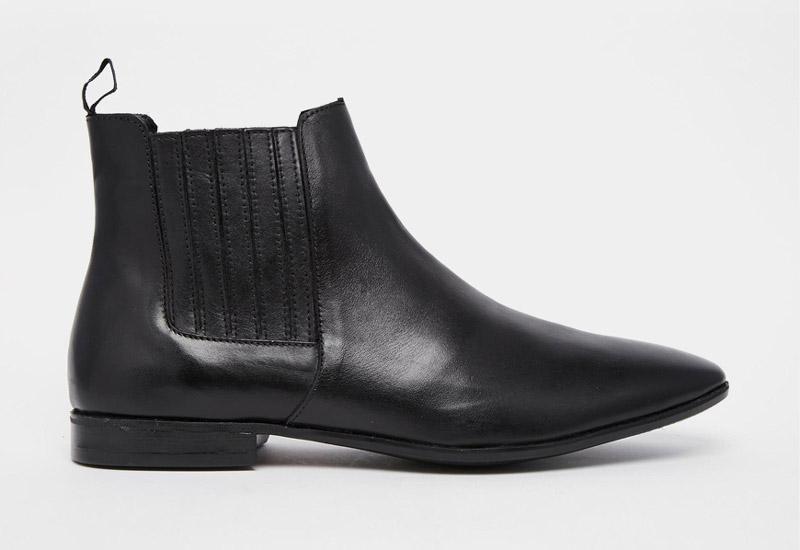 Boty perka – Chelsea Boots – pánské, kožené, – černé | Kotníkové boty – pánské