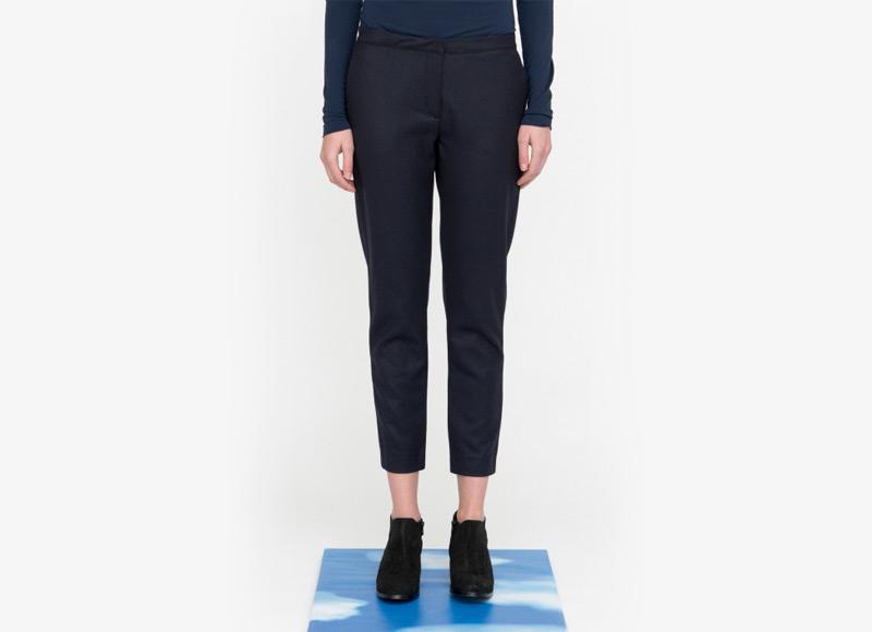 Frisur – černé kalhoty, dámské, bavlněné | Podzimní a zimní oblečení – dámské