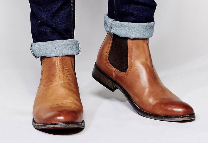 Boty perka – Chelsea Boots – pánské, kožené, – světle hnědé | Kotníkové boty – pánské