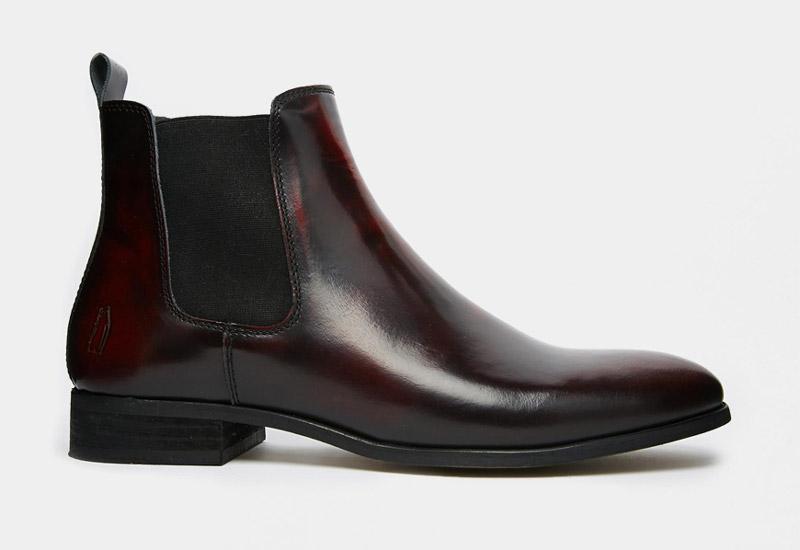 Boty perka – Chelsea Boots – pánské, kožené, – tmavé, hnědé | Kotníkové boty – pánské
