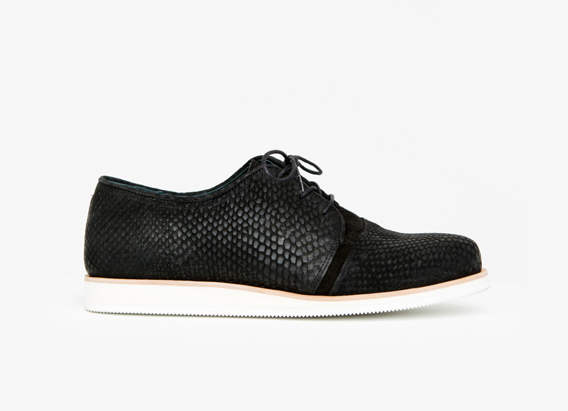 Frisur – podzimní černé kožené boty, pánské | Podzimní a zimní boty – pánské
