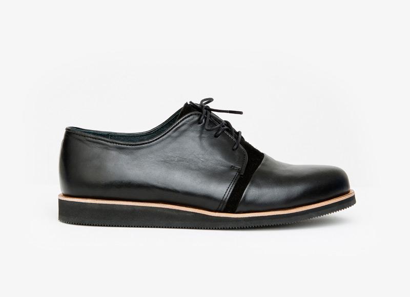 Frisur – podzimní kožené boty, pánské, černé | Podzimní a zimní boty – pánské
