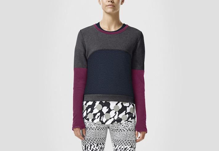 Nike Color-Block — propracovaná kolekce dámského sportovního oblečení fc372dd427
