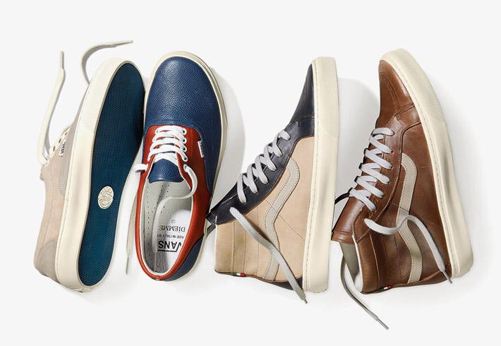 Boty Vans Diemme – kotníkové boty, nízké tenisky, sneakers, dámské, pánské