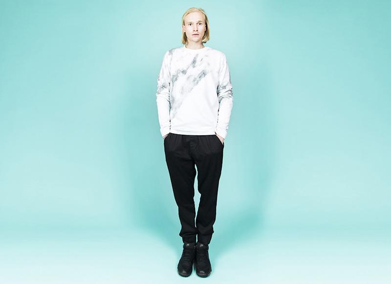 RVLT (Revolution) – černé kalhoty joggers, pánské, mikina se vzorem | Pánské značkové oblečení, móda
