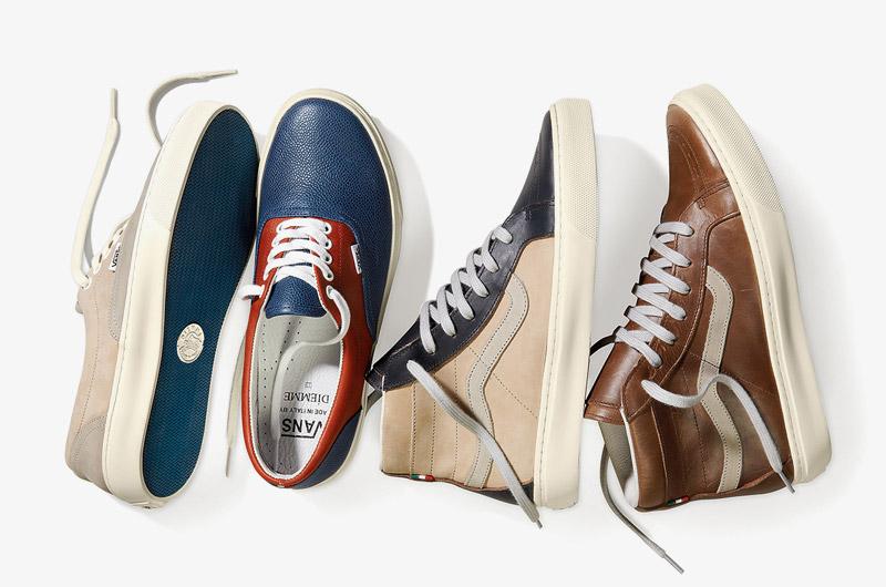 Luxusní kotníkové boty a nízké tenisky Vans Vault x Diemme e2f2e844f0