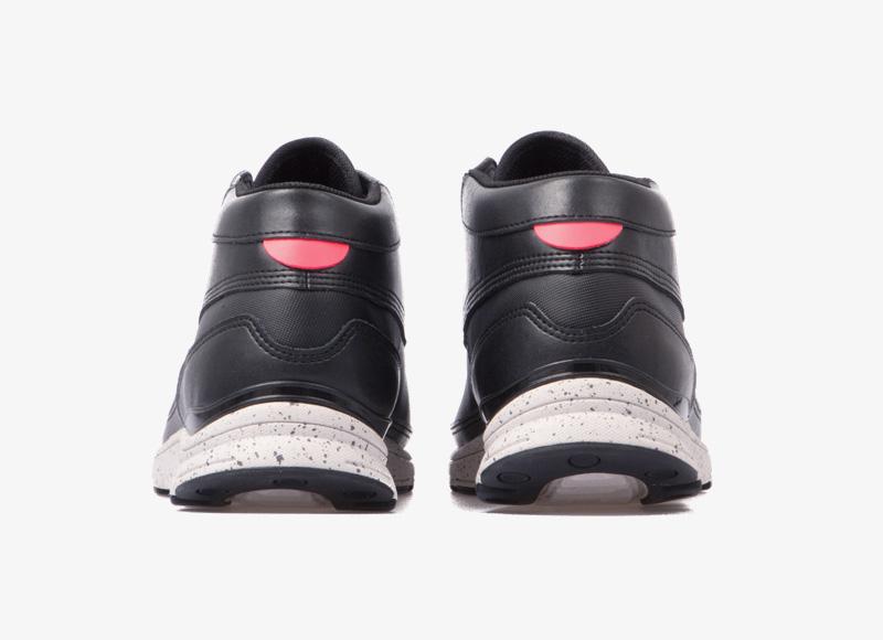 Black Scale x Gourmet – kotníkové boty, sneakers, černé tenisky, luxusní