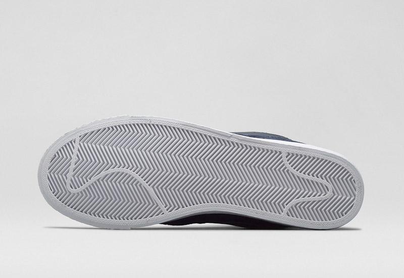 Nike Blazer Mid – kotníkové zimní boty, bílá podrážka, semišové | Pánské a dámské zimní boty