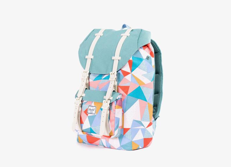 Batohy Herschel Supply – Little America Backpack – Mid Volume, barevný vzor, zelený | Stylové trendy batohy