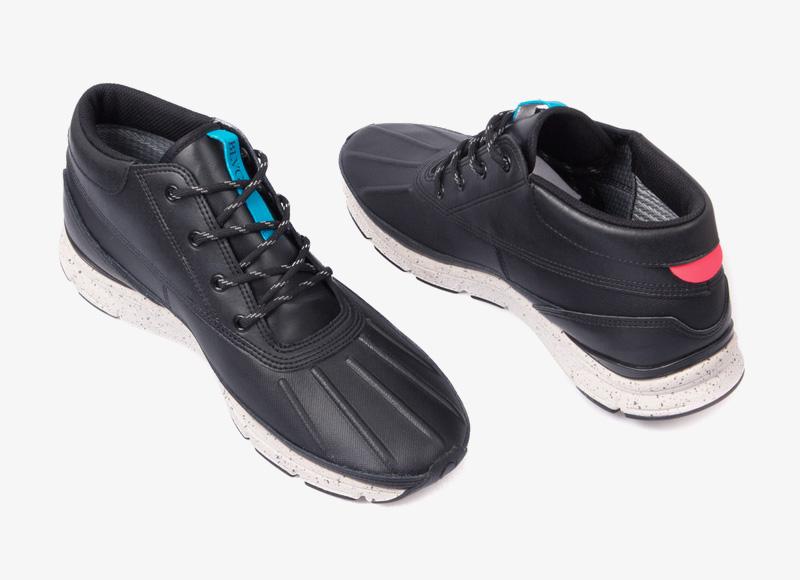 Black Scale x Gourmet – kotníkové boty, tenisky, sneakers, černé, luxusní boty