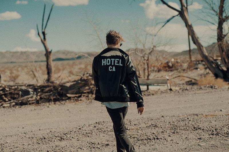 Hotel 1171 – pánská bunda, černá, bomber jacket | Pánské značkové oblečení