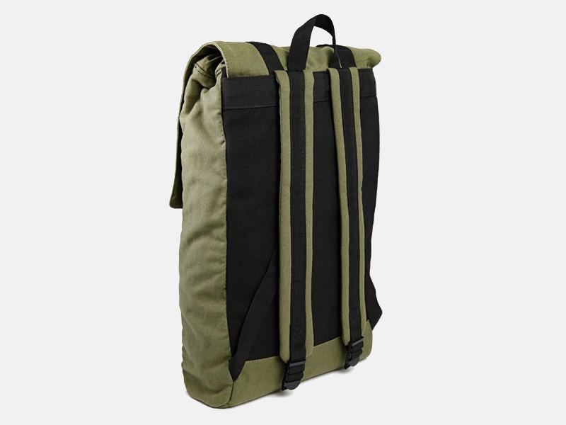 Plátěný batoh D-struct z nylonu – zelený, olivový, batoh na záda, ruksak | Stylové batohy