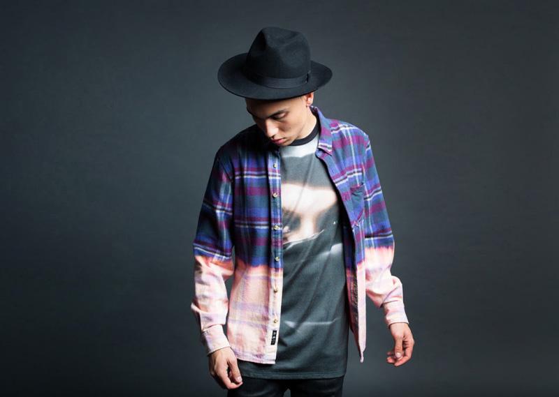 Black Scale – pánská barevná košile s dlouhým rukávem, batika, tričko s potiskem | Pánské značkové oblečení