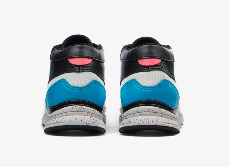 Black Scale x Gourmet – kotníkové boty, sneakers, bílo-černé tenisky, luxusní