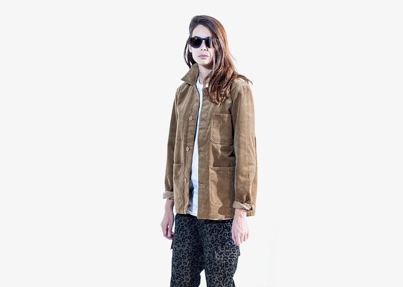 Carhartt WIP – podzimní bunda, béžová, dámská | Dámské značkové podzimní/zimní oblečení