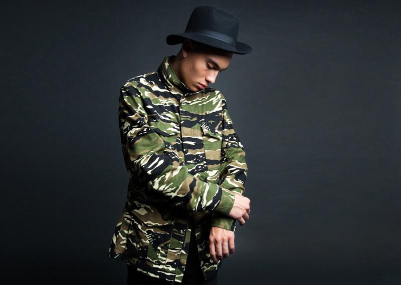 Black Scale – maskáčová bunda, podzimní, pánská | Pánské značkové oblečení