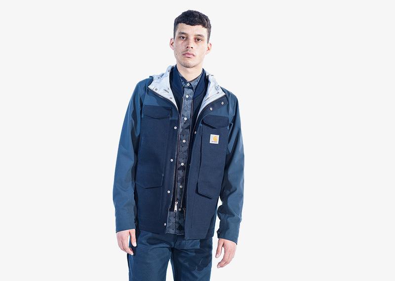 Carhartt WIP – pánská podzimní bunda, modrá | Pánské značkové podzimní/zimní oblečení