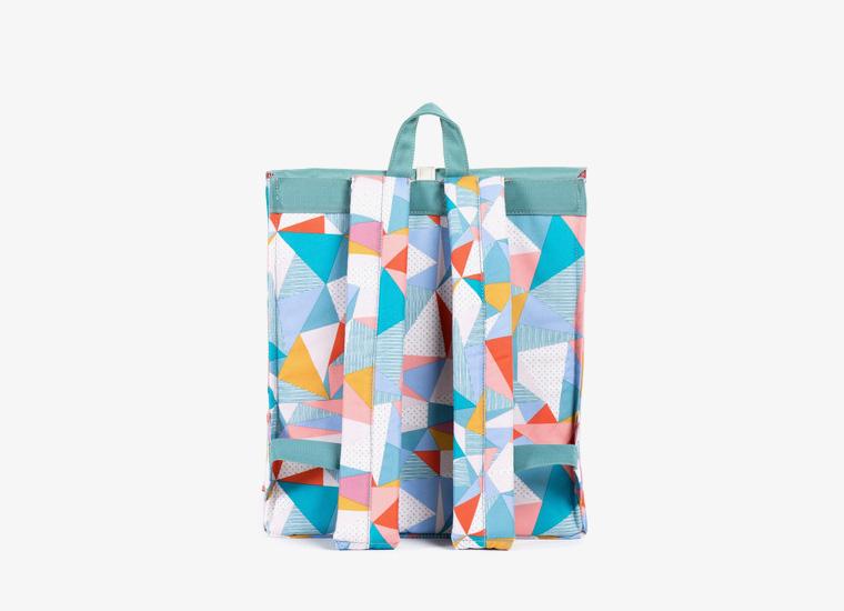 Batohy Herschel Supply – City Backpack – Mid Volume, barevný vzor, zelený | Stylové trendy batohy