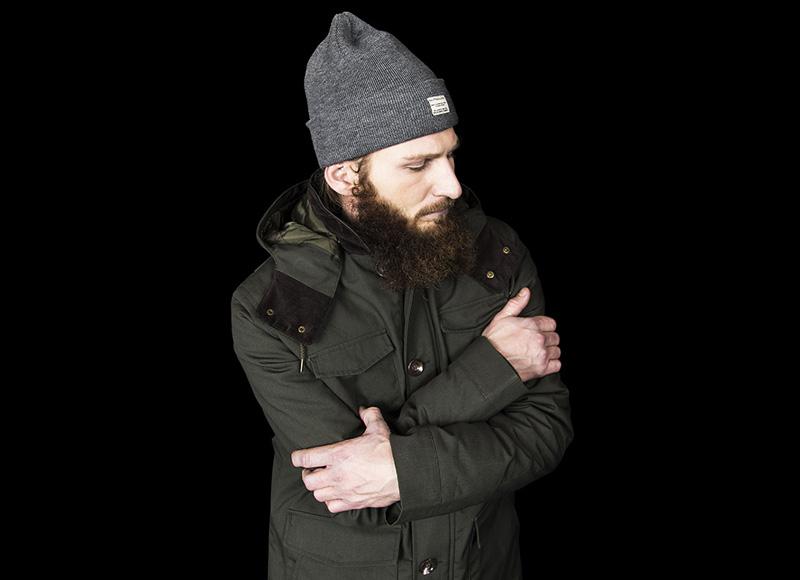 RVLT (Revolution) – pánská podzimní/zimní bunda, parka s kapucí | Pánské značkové oblečení, móda