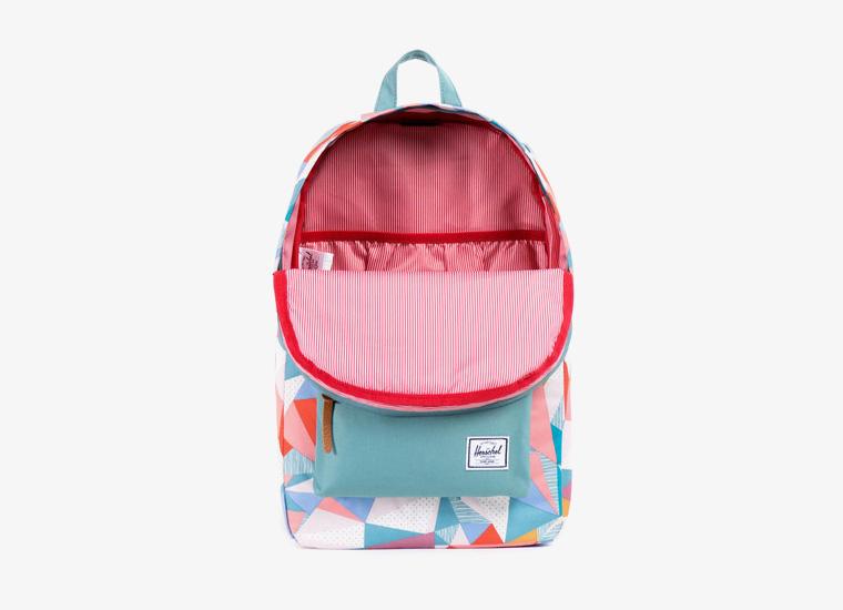 Batohy Herschel Supply – Heritage Backpack – Mid Volume, barevný vzor, zelený | Stylové trendy batohy