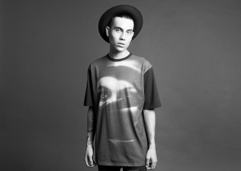Black Scale – tričko s potiskem, pánské | Pánské značkové oblečení