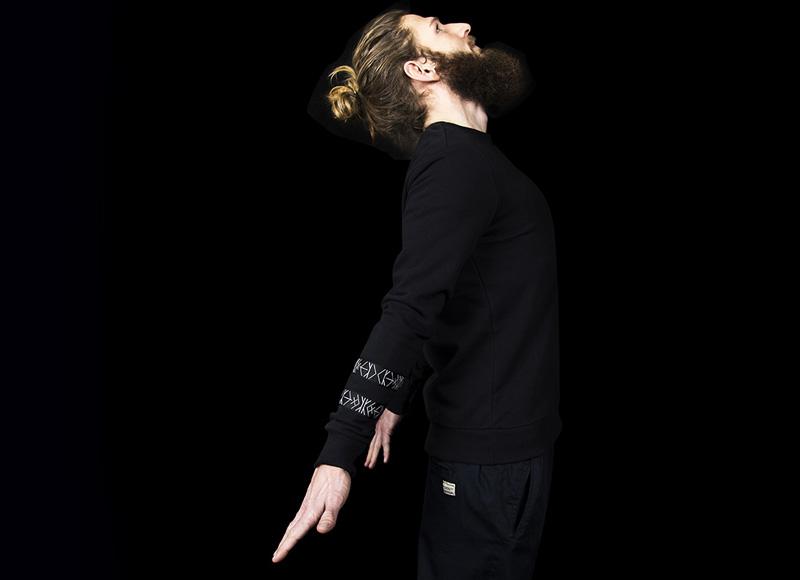 RVLT (Revolution) – černá mikina, pánská | Pánské značkové oblečení, móda