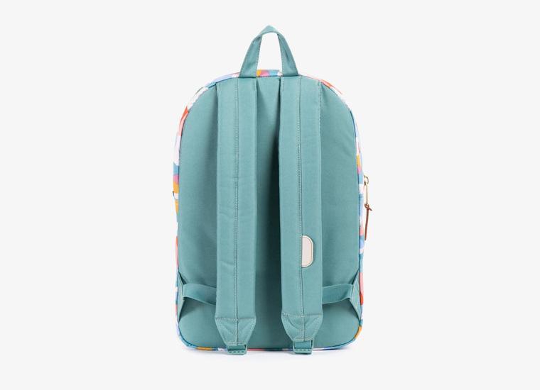 Batohy Herschel Supply – Settlement Backpack – Mid Volume, barevný vzor, zelený | Stylové trendy batohy