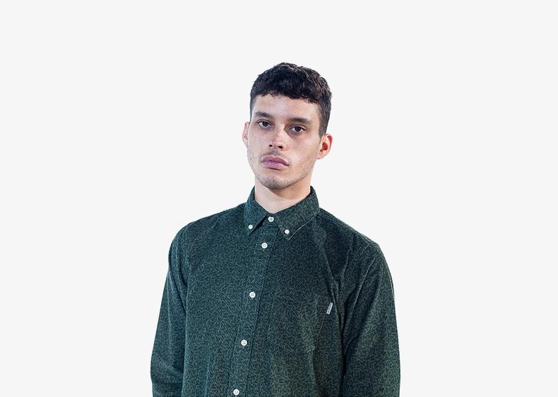 Carhartt WIP – tmavě zelená podzimní/zimní košile, pánská | Pánské značkové podzimní/zimní oblečení