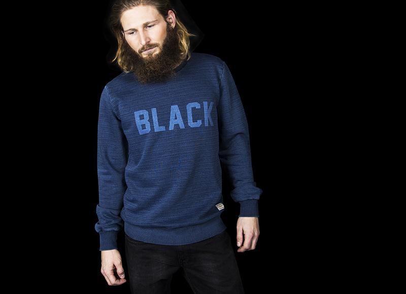 RVLT (Revolution) – modrá mikina, pánská | Pánské značkové oblečení, móda