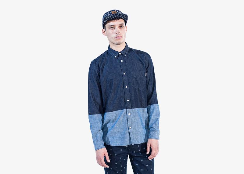Carhartt WIP – pánská košile s dlouhým rukávem, podzimní/zimní, modrá | Pánské značkové podzimní/zimní oblečení