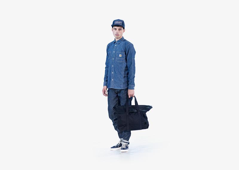 Carhartt WIP – džínová košile s dlouhým rukávem, pánská, pánské džíny | Pánské značkové podzimní/zimní oblečení