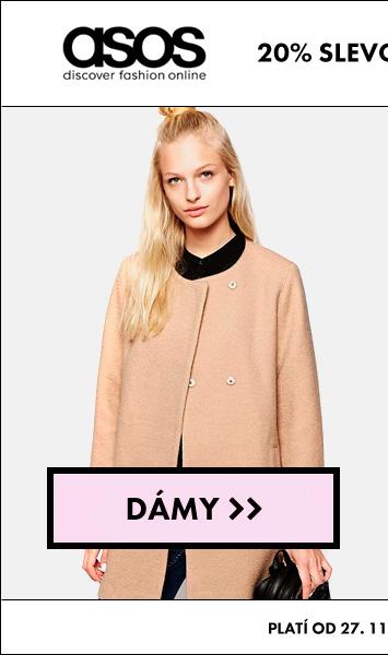 E-shop Asos – dámské stylové oblečení, 20% sleva, výprodej