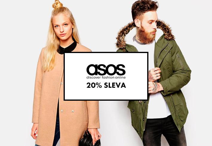 Asos eshop – slevy dámské a pánské stylové oblečení