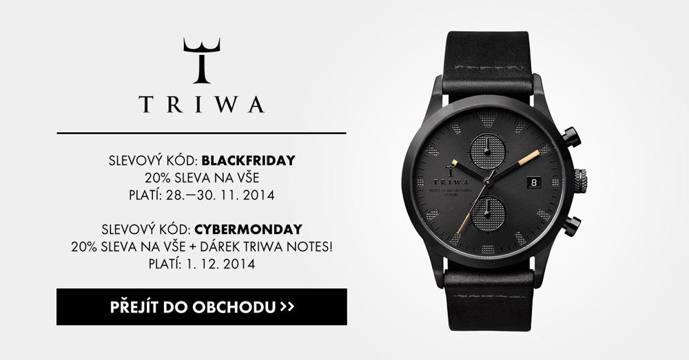 Pánské a dámské náramkové hodinky Triwa — Black Friday, Cyber Monday