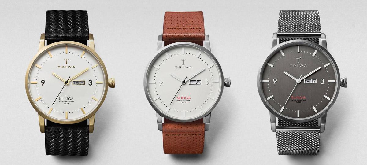 Hodinky Triwa Klinga – dámské a pánské náramkové hodinky