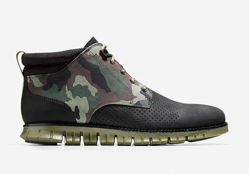 Cole Haan ZeroGrand Boot – zimní boty, pánské vysoké maskáčové boty, kotníkové boty, černé, sportovní podrážka
