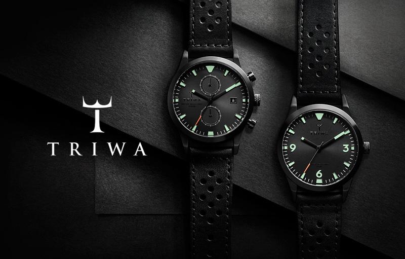 Hodinky Triwa – Sort of Black Glow – černé | Pánské a dámské luxusní hodinky