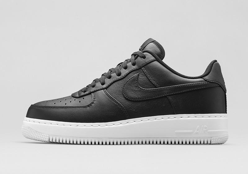 Boty Nike Air Force 1 Low CMFT – černé, pánské, dámské | Nízké sneakers, tenisky