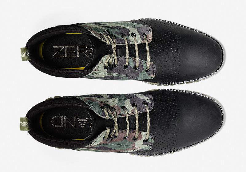 Cole Haan ZeroGrand Boot – pánské vysoké boty, kotníkové maskáčové boty, zimní boty, černé, sportovní podrážka