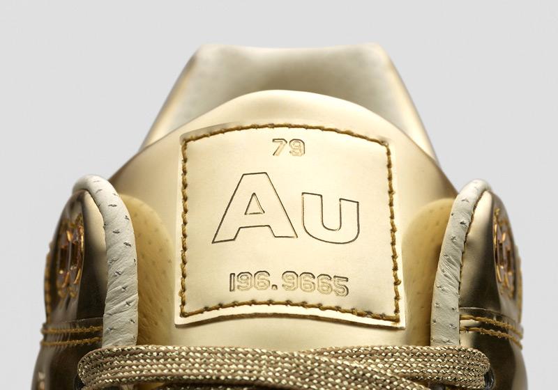 Nike Air Max 1 Liquid Metal – zlaté tenisky, dámské sneakers, lesklé, bílá podrážka
