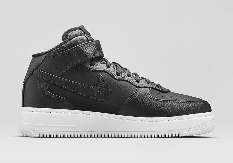 Kotníkové boty Nike Air Force 1 Low CMFT – černé, pánské, dámské, sneakers, tenisky