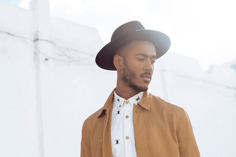Daily Paper – pánská košile – bílá, béžová bunda