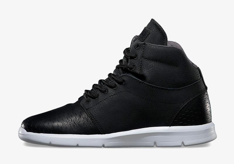 Boty Vans Marleaux – černé, kotníkové, zimní, vysoké, kožené