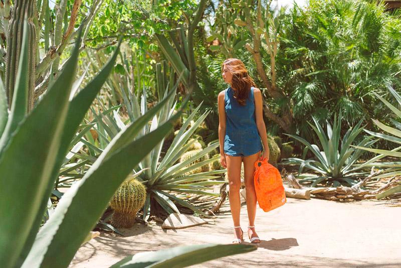 Batohy Herschel Supply – lookbook – jaro 2015, oranžový batoh na záda Heritage Backpack