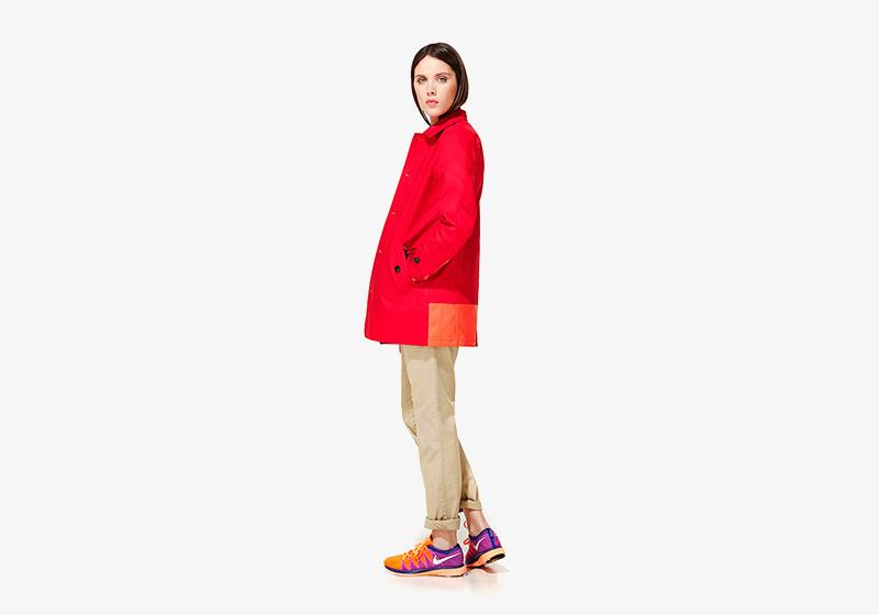 Carhartt WIP – červená jarní/letní bunda – dámská, dámské khaki kalhoty