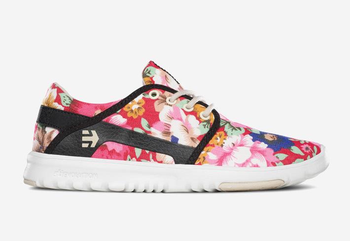 Dámské boty Etnies Scout s běžeckým designem — jaro 2015