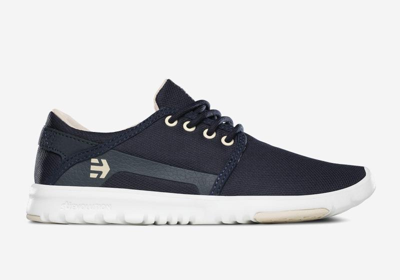 Etnies Scout – dámské tenisky, běžecké boty, tmavě modré